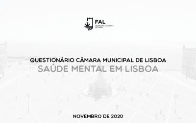 Questionário CML | Saúde Mental em Lisboa